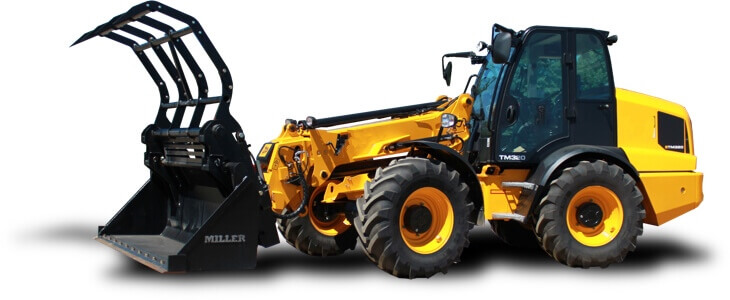 miller loader attachments for Telehandlers
