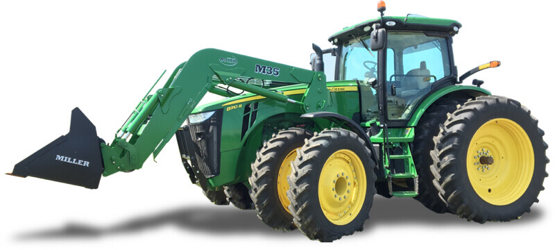 miller loader attachments for Tractors