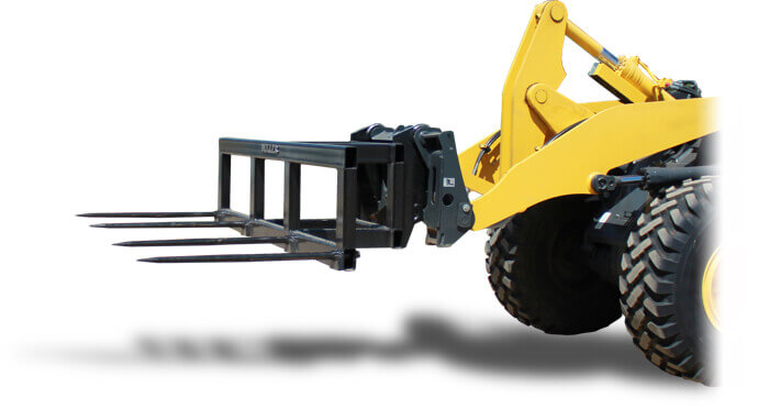 miller loader attachments for Wheel Loaders